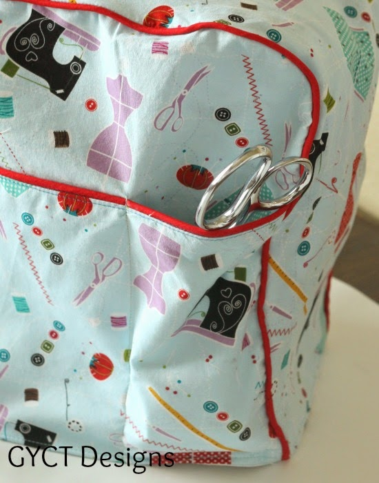 Making Your Own Easy Sewing Machine Cover Pattern - GYCT Designs