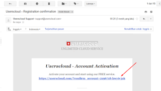 Cara Mendaftar dan Mendapatkan Uang Dari Userscloud