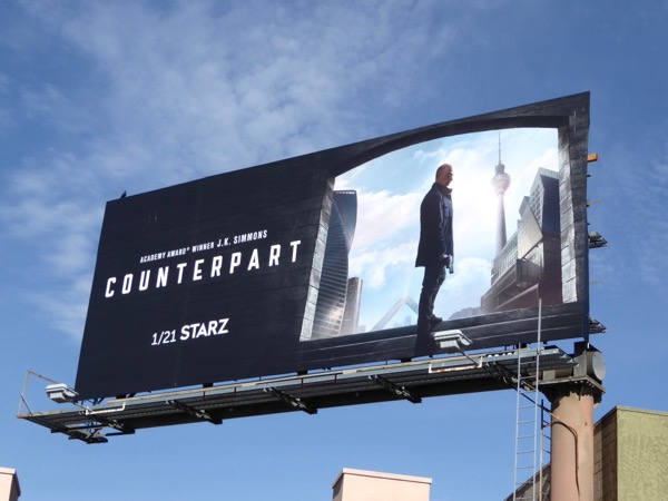 Counterpart season 1 billboard