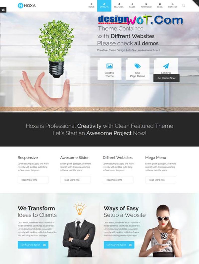 Hoxa - MultiPurpose WordPress Theme