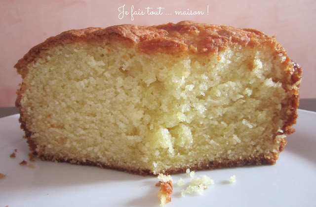 Gâteau au yaourt version Conticini
