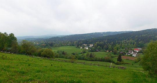 Dolina Łękawki.