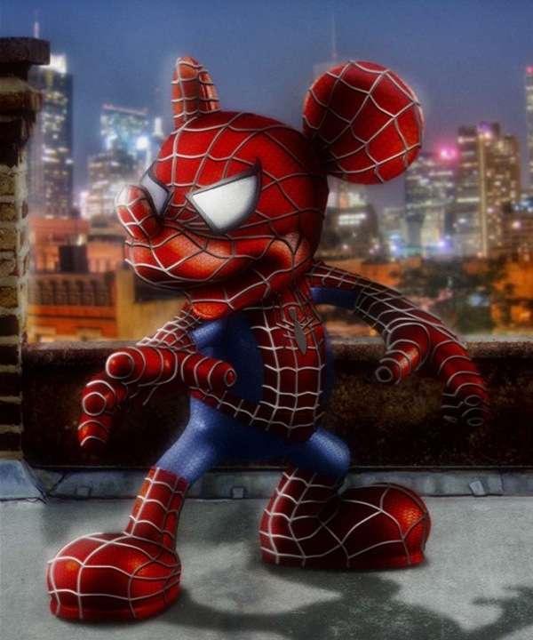 Hybrid Superheroes The Odd Blogg