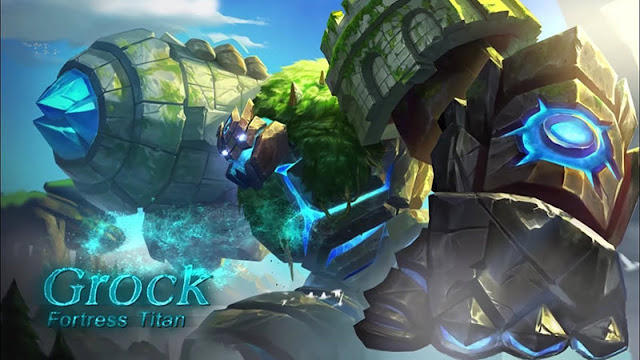 Grock Mobile Legends Wallpapers