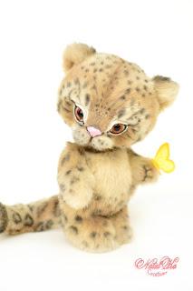 Irbis, snow leopard, снежный барс, леопард, ирбис, Коллекционные мишки тедди, авторские тедди, авторские игрушки, тедди, коллекция мишек тедди,друзья мишек тедди, NatalKa Creaions, artist teddy bears, ooak teddies, collectable teddies, stuffed toys, Künstlerteddys, teddies with charm, Teddybären, Teddy kaufen, teddy bears buy, Summer Lovin Leopard, Влюбленные в лето