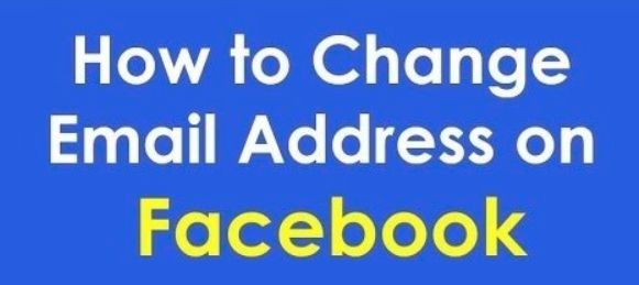 How to change primary email account in facebook