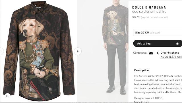Dolce & Gabbana collection Autumn Winter 2017