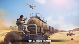 Cover Fire Mod Apk Unlimited Money/Enemy Vip Unlocked + Data for Android