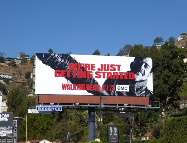 Walking Dead season 7 billboard