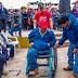 ENTREGAN 100 SILLAS DE RUEDAS A PERSONAS CON DISCAPACIDAD EN USQUIL