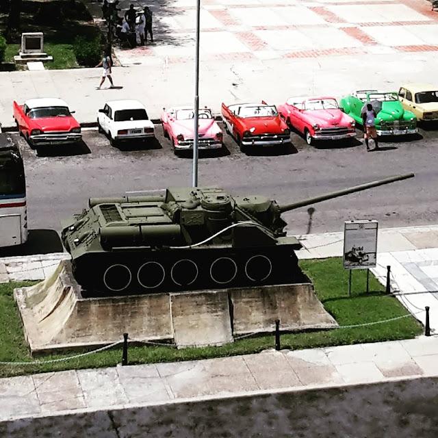 Fidel Castro's tank