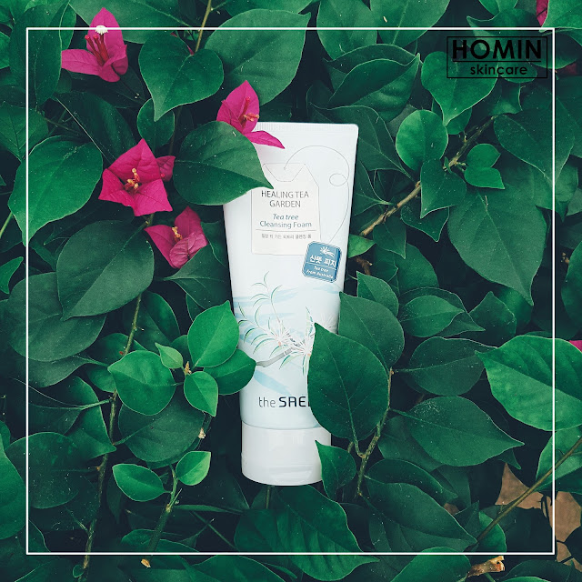 THE SAEM Tea Tree Cleansing Foam