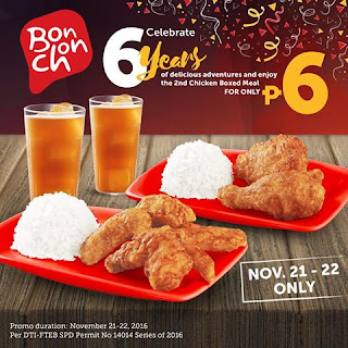 BonChon promo, Philippines promo, promotion