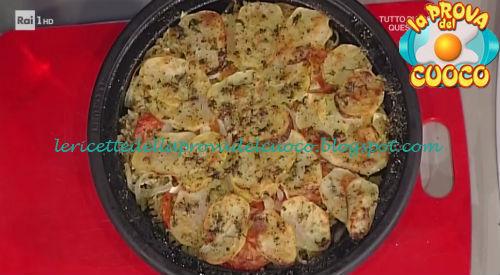 Tiella di riso con patate e cozze ricetta Messeri da Prova del Cuoco