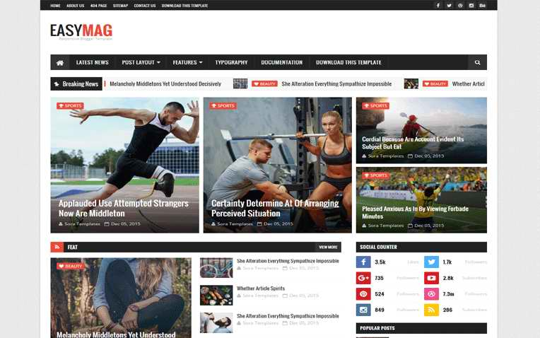 Template Yang Cocok Untuk Web Organisasi Sekolah
