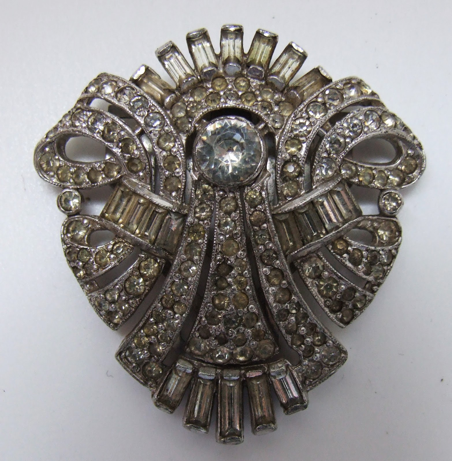 Antique And Vintage Costume Jewellery Art Deco Vintage