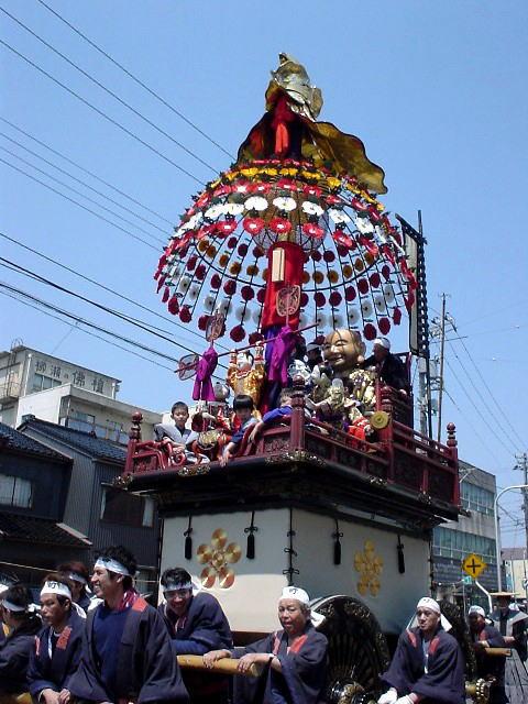 Mikurumayama Festival (Parade of Traditional Floats), Takaoka City, Toyama Pref.
