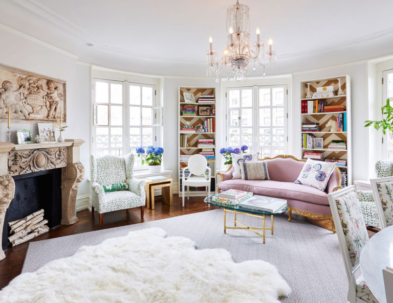 Feminine+French+Inspired+Home+Upper+West+Side