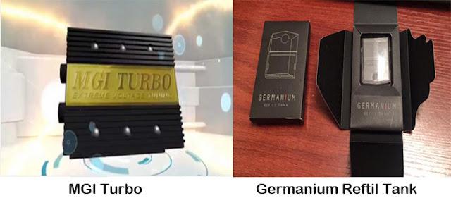 MGI Turbo Dan Germanium Reftil Tank