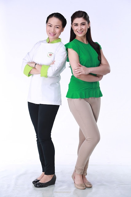 Kapuso leading lady Carla Abellana and multi-awarded pastry chef Jackie Ang-Po