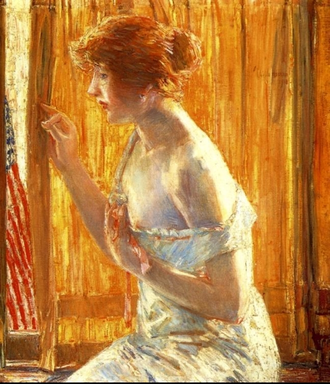 Childe Hassam City Street Scenes Tutt Art Pittura