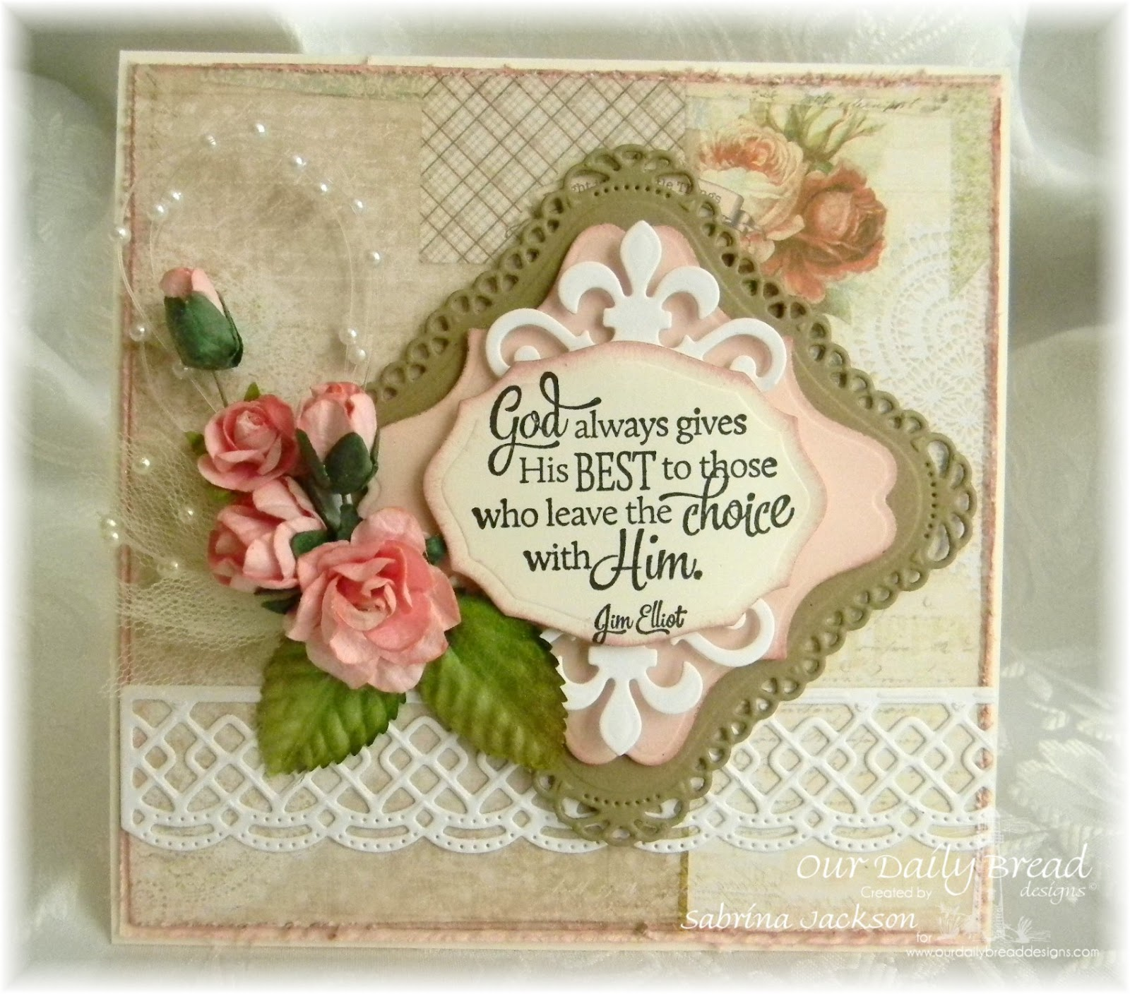 Stamps - Our Daily Bread Designs Quote Collection 4, ODBD Custom Beautiful Borders Dies, ODBD Elegant Oval Dies