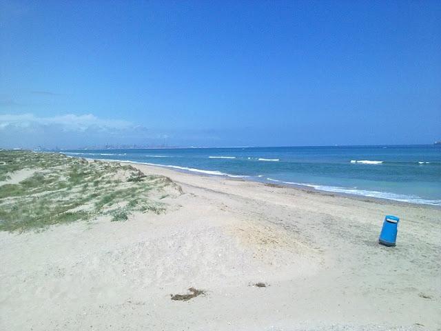 Praia Garrofera em Valência