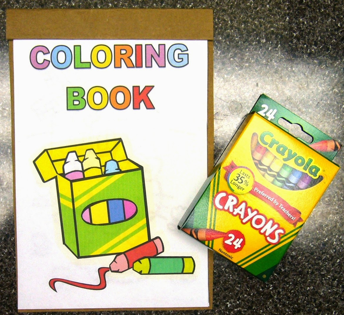 Handmade coloring book how to