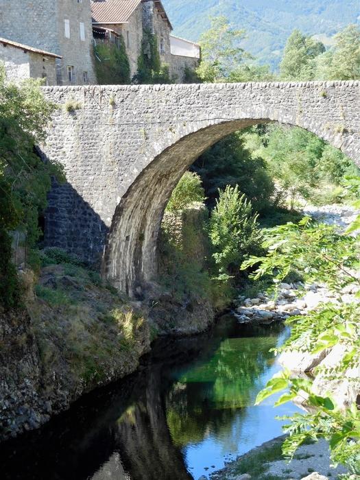 #EnFranceAussi 3 ponts en Ardèche Jaujac