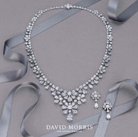 David Morris - Gardenia' a spectacular white diamond necklace