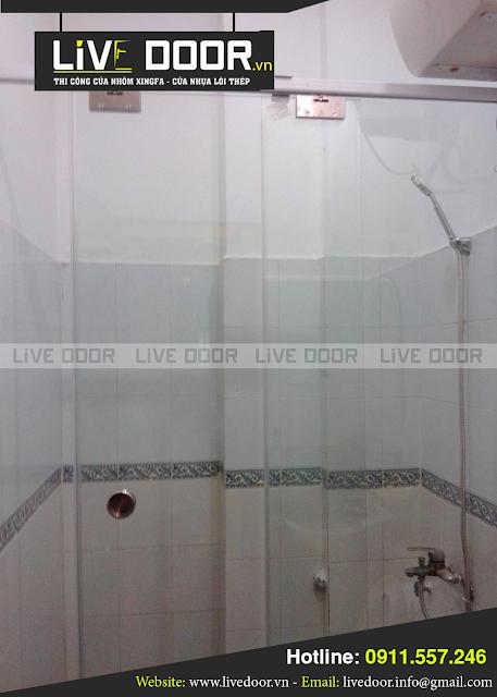 mẫu cửa kính phòng tắm đẹp, cửa kính phòng tắm ở đà nẵng, cua kinh phong tam da nang