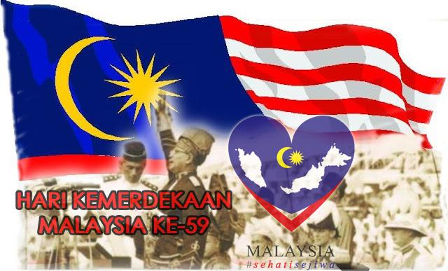 HARI KEMERDEKAAN MALAYSIA YANG KE 59