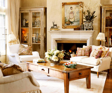 Northwest transformations warm and inviting french for French country family room