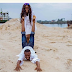 Lady Drags Fiance On The Floor In Pre-wedding Photos