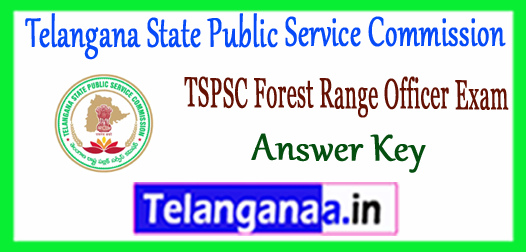 TSPSC FRO Telangana State Public Service Commission Answer Key 2017
