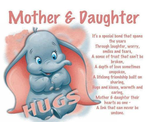 Happy mothers day to my daughter quote poems wishes images for facebook and whatsapp