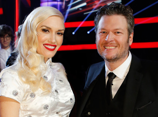 "Escucha ""Go Ahead and Break My Heart"", el dueto de Gwen Stefani y Blake Shelton."
