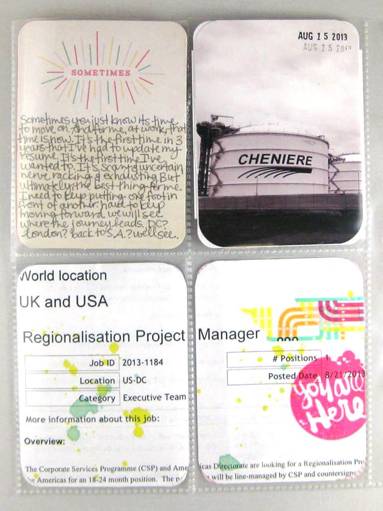 Jamie Leija Neon Birthday Card: Jamie Leija: Project12: August 2013