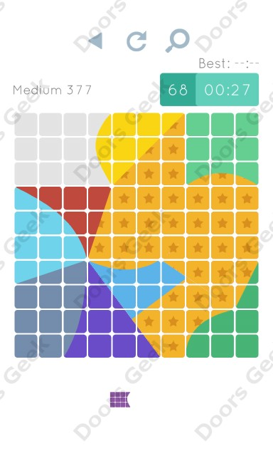 Cheats, Walkthrough for Blocks and Shapes Medium Level 377