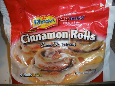 Iced Cinnamon Roll Entrails - a DIY of sorts