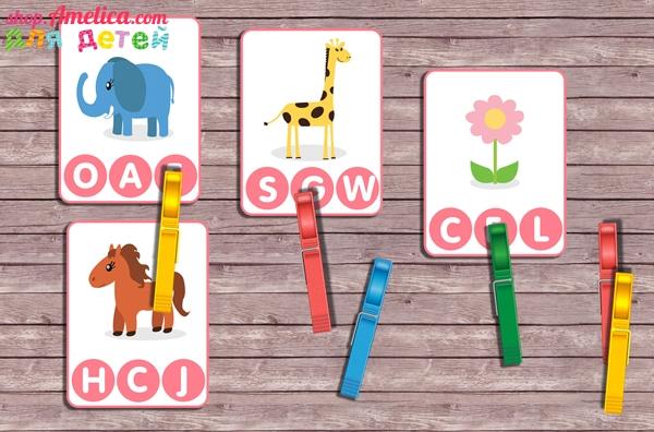 Развивающая игра для детей «English alphabet»