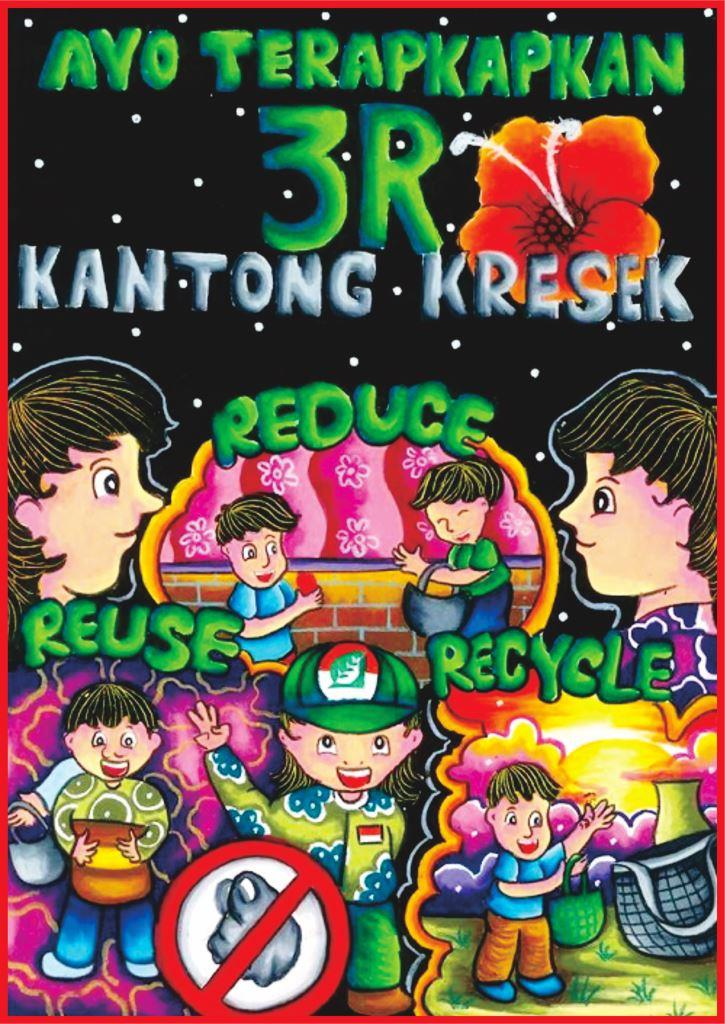 Menggambar Poster Tema Kebersihan Lingkungan Cute766