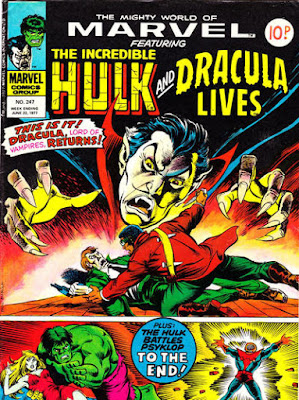 Mighty World of Marvel #247, Dracula