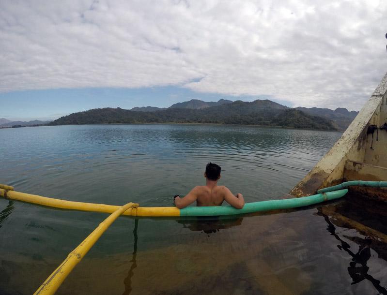 Lake Mapanuepe Swimming