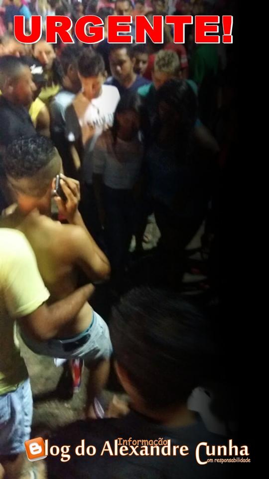 URGENTE! Uma morte e pelo menos 5 feridos em Tiroteio na praça do Povo durante festa do aniversario de Chapadinha