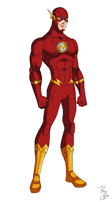 Phil Cho DeviantArt Flash Costume Redesign Animated Series