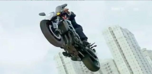 Ini Video Jokowi Jumping Motor Gede di Pembukaan Asian Games, Bohongnya Sungguh Terlalu