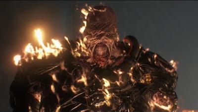 Remake de Resident Evil 3 - trailer com vilão Nemesis