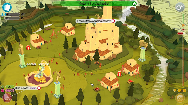 Screenshot from Godus