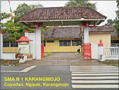 SMA Negeri 1 Karangmojo